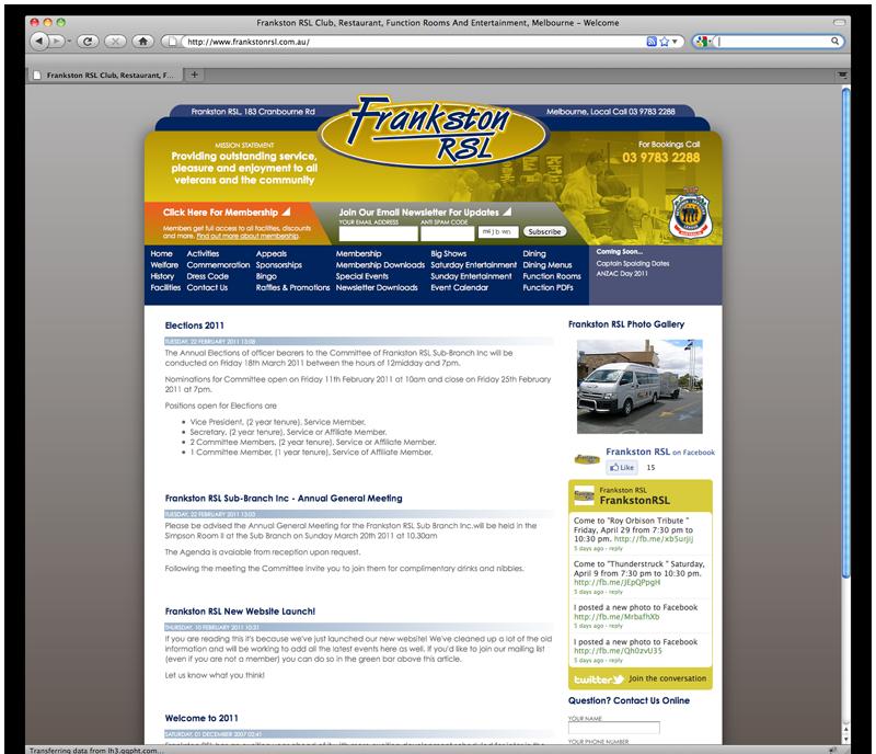 blog integration melbourne website design hosting. Black Bedroom Furniture Sets. Home Design Ideas