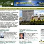 Eco Citizen website Homepage