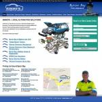 mechanic website design