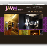 melbourne website design - jamm styling