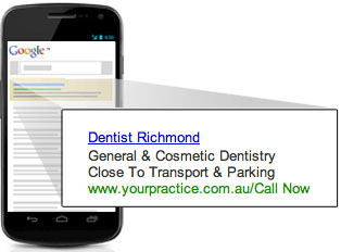 AdWords Dental Mobile Campaign