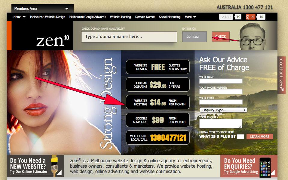 zen10 CRO Home Page