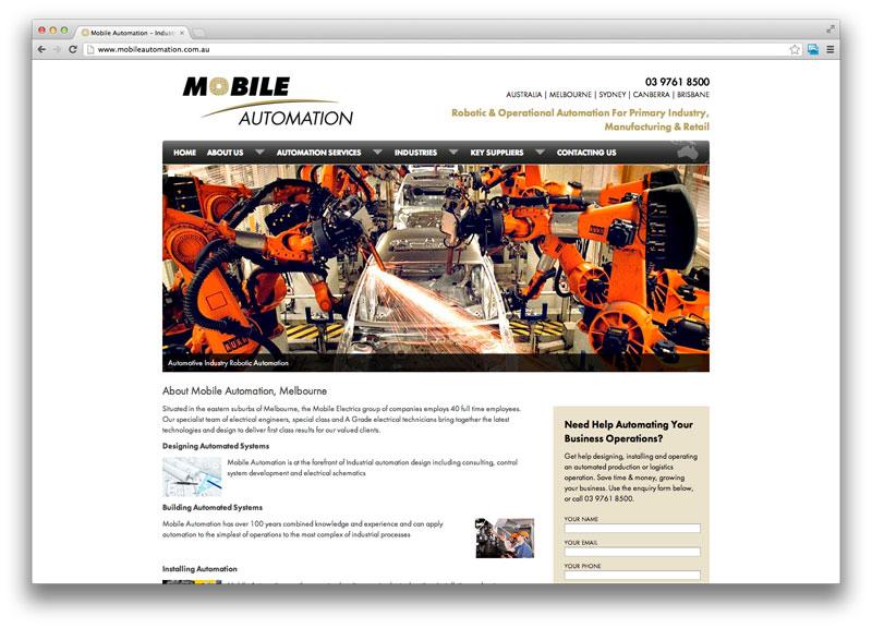 Web Design Melbourne - Mobile Automation | Melbourne Website Design