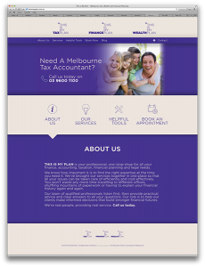 This is my Plan website design